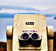 Nikon Teloscope Sticker