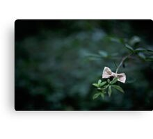 Bow tied up Canvas Print