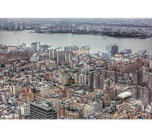 Manhattan New York City cityscape Photographic Print