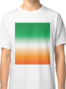 Green, White and Orange (Ireland) Classic T-Shirt