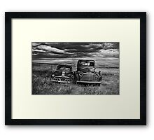 Marriage - BW Framed Print