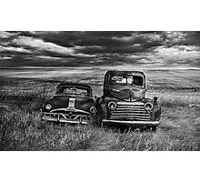 Marriage - BW Photographic Print