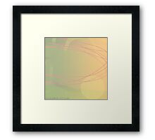 'Fleeting', Abstract Thinking Series 24 Framed Print