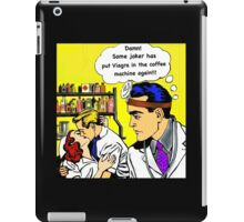 Doctors, nurses, love, viagra, pop art hospital romance iPad Case/Skin