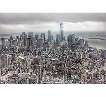 Manhattan New York City skyline Photographic Print