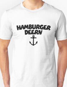 Hamburger Deern Anker (Schwarz) T-Shirt
