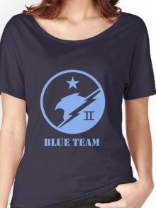 Blue Team Spartans Women's Relaxed Fit T-Shirt