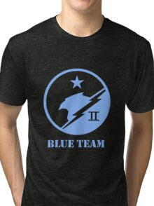 Blue Team Spartans Tri-blend T-Shirt