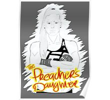 "HOLLY ""The Preacher's Daughter"" HOLM (dark grey) Poster"