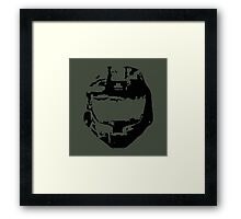 Spartan Dome Piece Framed Print