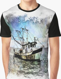 The Rusty Shrimper Graphic T-Shirt