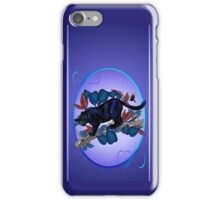 PANTHER -Alert Hunter Oval iPhone Case/Skin