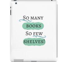 So many books! iPad Case/Skin