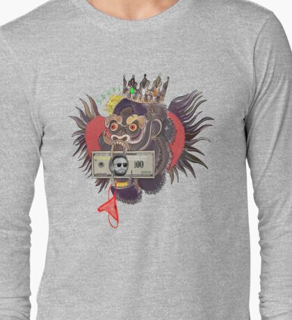 Red Panty Night - Conor McGregor (light grey) Long Sleeve T-Shirt