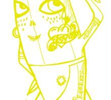 Cannibal Banana Sticker