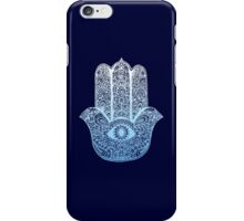 Hamsa Blue iPhone Case/Skin