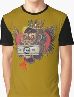 Red Panty Night - Conor McGregor (gold) Graphic T-Shirt