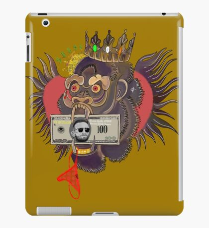 Red Panty Night - Conor McGregor (gold) iPad Case/Skin