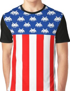 USA : UNITED STATE OF ARCADE Graphic T-Shirt