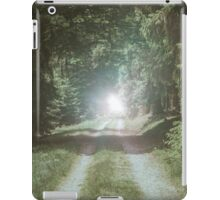 Tunnel of Trees landscape photography iPad Case/Skin