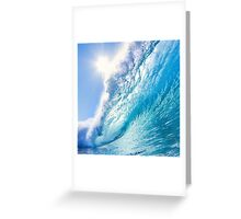 OCEAN WAVE 1 Greeting Card