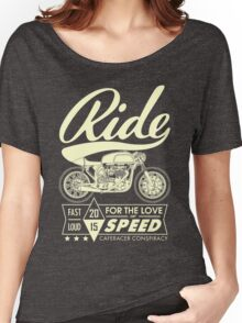 RIDE CAFE RACER Women's Relaxed Fit T-Shirt