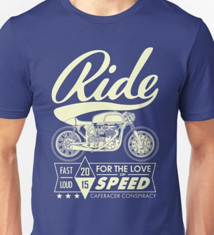 RIDE CAFE RACER Unisex T-Shirt