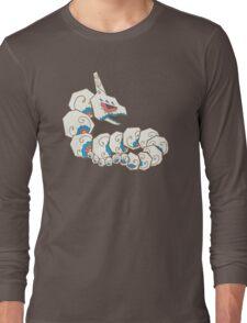 Onix Pokemuerto   Pokemon & Day of The Dead Mashup Long Sleeve T-Shirt