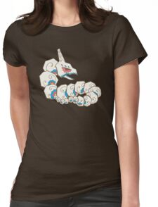 Onix Pokemuerto | Pokemon & Day of The Dead Mashup Womens Fitted T-Shirt