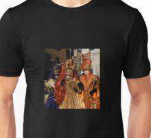 Carnival Goers in Costume, Venice Unisex T-Shirt