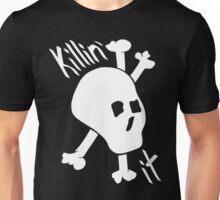 Killin' it black and white skull Unisex T-Shirt