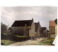 Alfred Sisley - Women Going to the Woods 1866 Poster