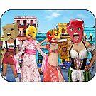Big Head Girls Hit Cuba by JoelCortez