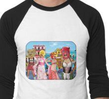 Big Head Girls Hit Cuba Men's Baseball ¾ T-Shirt