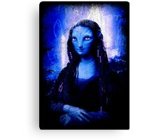 BLUELADY Canvas Print