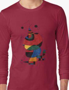 Women Bird Star Long Sleeve T-Shirt