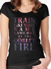 Like Your Name Came Out of the Goblet of Fire. Women's Fitted Scoop T-Shirt