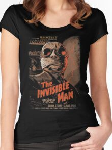 VINTAGE MOVIE POSTER Women's Fitted Scoop T-Shirt