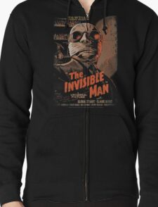 VINTAGE MOVIE POSTER Zipped Hoodie