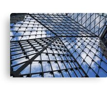 Geometric Sky - Fabulous Modern Architecture in London, UK Canvas Print
