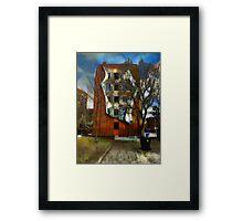 Flatiron Building Rear Toronto CA  Framed Print