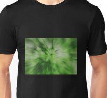 Green Radial Zoom Unisex T-Shirt