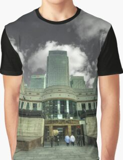 Canary Wharf Tower  Graphic T-Shirt