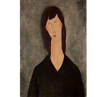 Amedeo Modigliani - Buste de femme Busto Woman Portrait Fashion  Photographic Print
