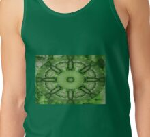 Green Twirly Tank Top
