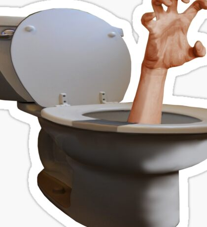 SURREALISM - Fear Of The Toilet Sticker