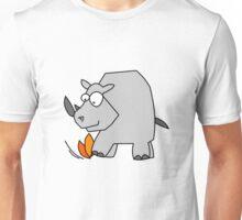 The Rhino Fire Extinguisher Unisex T-Shirt