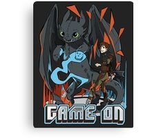 HTTYD: Game On! Canvas Print