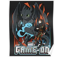 HTTYD: Game On! Poster