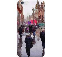 Rainy Day in Glasgow iPhone Case/Skin